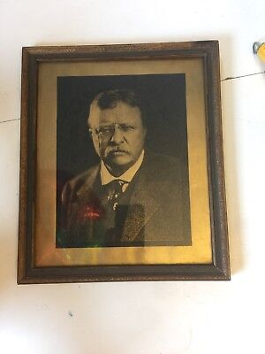 Antique Picture Teddy Roosevelt