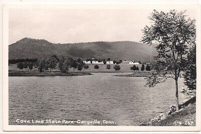 Rppc Caryville Tennessee Tn. Campbell County Postcard