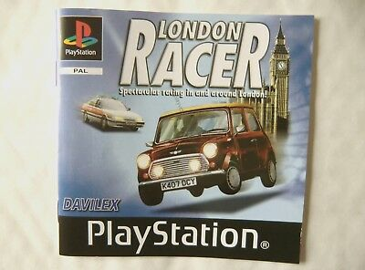54536 Instruction Booklet - London Racer - Sony Playstation 1 (2000) SLES 02694