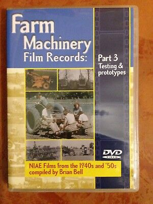 Farm Machinery Film Records DVD