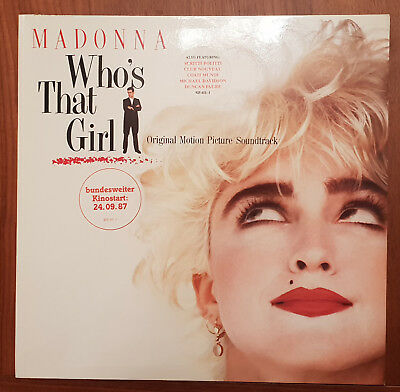 Madonna - Who's That Girl Soundtrack Vinyl LP - Near Mint Condition