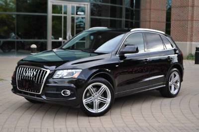 2012 Audi Q5 3.2 S-Line, Bang and Olufsen, Nav, Pano, Camera 2012 Audi Q5 3.2 S-Line, Black Super Clean