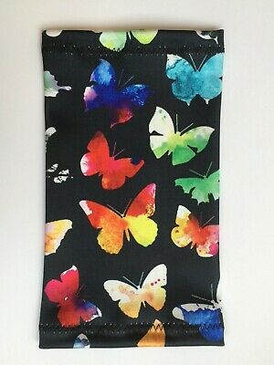 Lycra PICC Line or Freestyle Libre Cover - Watercolour Butterfly