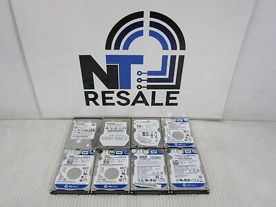 """LOT of 8 Mixed Brands/Speeds 320GB 2.5"""" SATA Laptop Hard Drive HDD"""