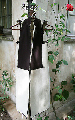 GREEK ANTIQUE AUTHENTIC TRADITIONAL POGONI FEMALE LONG WAIST SEGKOUNI cir 1930 !