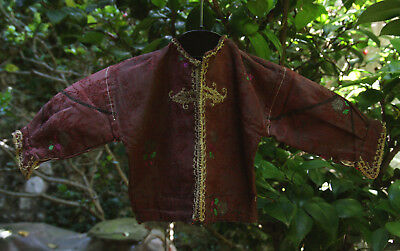 OTTOMAN ANTIQUE AUTHENTIC UNIQUE TRADITIONAL BABY VEST - YELEK circ 19th century