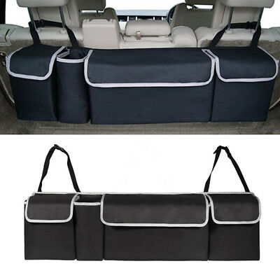 Multi-use High Capacity Oxford Car Seat Back Organizers Fit Interior Accessories