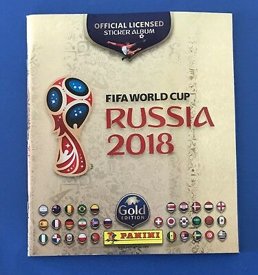 Album Calciatori Panini Russia 2018 - Vuoto/empty - Gold Edition
