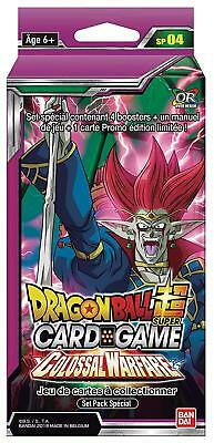 Dragon Ball Super Card Game : Set Pack Spécial Série 4 Colossal Warefare - FR