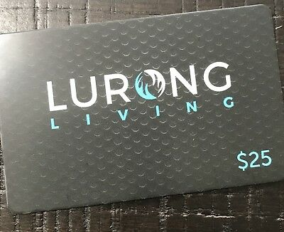 Lurong Living Gift Card ~ $25.00