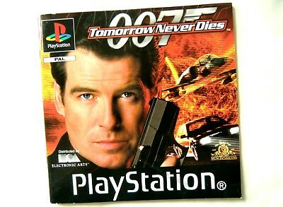 55685 Instruction Booklet - Tomorrow Never Dies - Sony Playstation 1 (1999) SLES