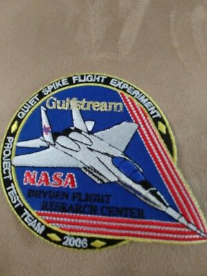 USAF F-15 NASA/Gulfstream Noise Suppression Experiment patch