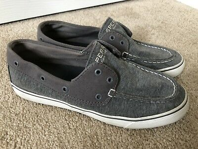 502f688479be9 SPERRY TOP-SIDER WOMENS Sz 8.5 Black Waterproof Rubber Duck Quilted ...