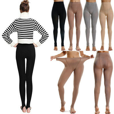 1PC Opaque Solid Color Everyday Full Pantyhose Stretch Tights Hosiery Dance US