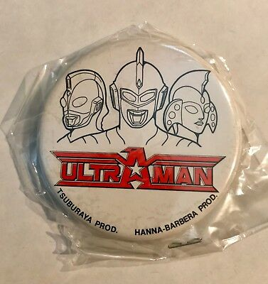 "Very Rare ""ultraman"" Hanna-Barbera Movie Collectible Pin"