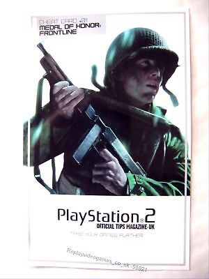 55921 Instruction Cheat Card 011 - Medal Of Honor Frontline - Sony Playstation 2