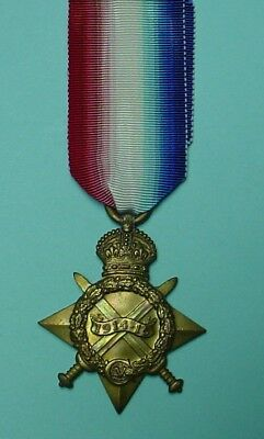 British Ww1 1915 Star Medal..hambly....r.e