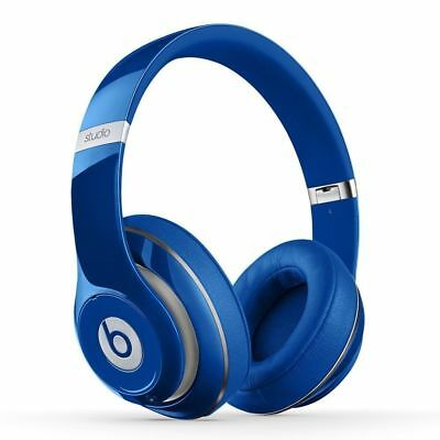 Beats by Dr. Dre Studio 2.0 Over-Ear Wired Headphones (Blue)