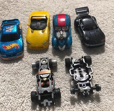 Vintage Tyco Slot Car Bodies And Pieces (Lot Of 6) Ford Hot Rod, Porsche 935,