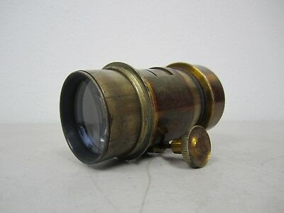 Antique B.F. (BF) & Co. Darlot Paris Brass Lens - Petzval(?)