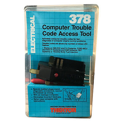 Thexton: Computer Trouble Code Access Tool 378