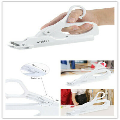 Electric Automatic Scissors Shears Safe Handheld Electric Fabric Sewing F6E1