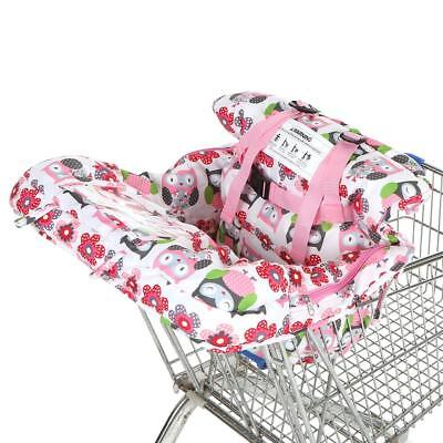 Baby Shopping Trolley Cart Cover Seat Child High Chair Protector Mat Pad T0U3