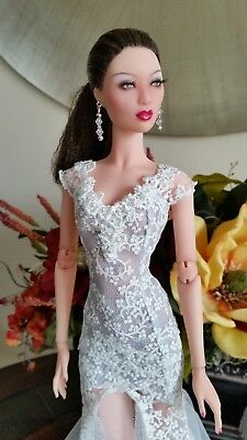 """Numina Dollcis SUNG, 16"""" resin fashion doll....Excellent Condition,  Extras"""
