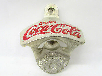 Cast Iron Vintage Style Drink Coca-Cola Cast Iron Bottle Opener Beer Coke