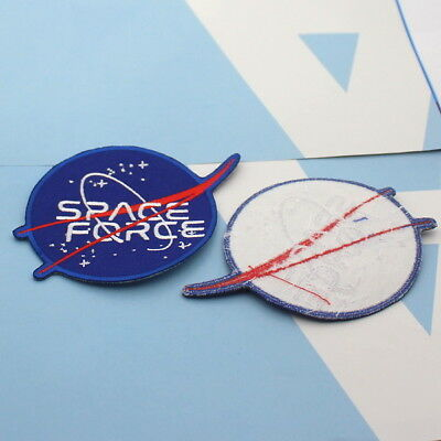 SPACE force patch Embroidered    2.75 INCH   DONALD J. TRUMP MILITARY IN SPACE