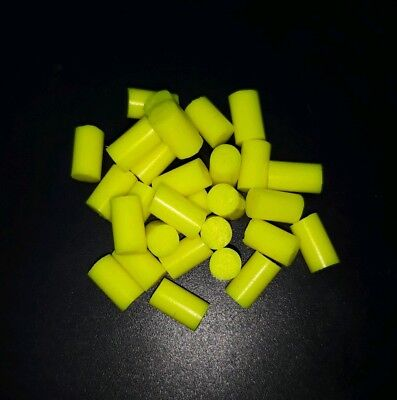 Silicone Fishing Attractors, neon yellow. Better Than Bonebass fixonel inova