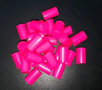 Silicone Fishing Attractors, neon pink. Better Than Bonebass fixonel inova yuki
