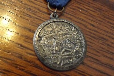 Boy Scout Medal Forbes Trail Britannica Consilio Manuque