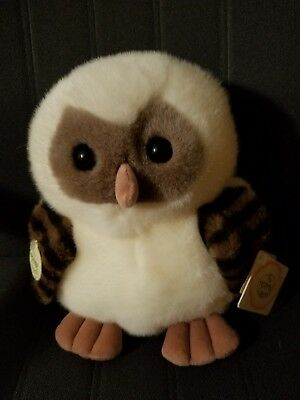 "Rare Vintage Ganz The Heritage Collection Plush 10"" Ernest OWL"