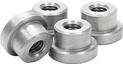 "Weld on Nuts 1/2""-13 Thread Threaded Nut Steel Chassis Mount Tab Pack of 4"
