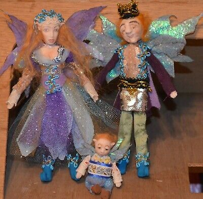 Dollhouse Doll Fairy Girls,King,Queen  1.12 Scale Polymer Sculpt Custom Order