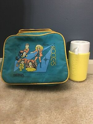 Vintage 1987 Barbie And The Rockers Lunch Bag With Thermos - Condition Issues