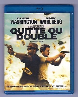 2 Guns ( Blu-ray, 2013, Canadian Bilingual) Denzel Washington, Mark Wahlberg