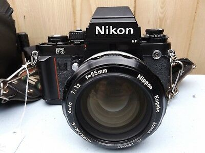 Vintage Film Camera - Nikon F3 With Case - #15