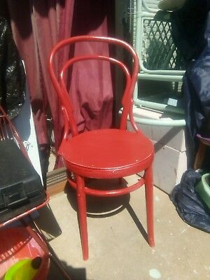 BENTWOOD CHAIR (Repainted)