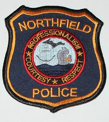 NORTHFIELD POLICE Michigan MI PD Patch