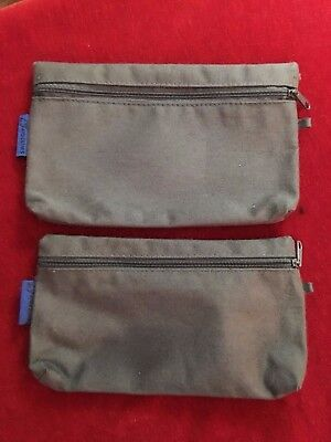 Swissair Airline  First Class Toiletries Bags- Set Of Two