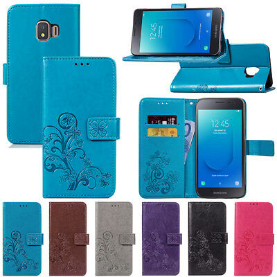 For Samsung Galaxy J2 Core J4 J6 Plus 2018 Wallet Leather Case Stand Phone Cover