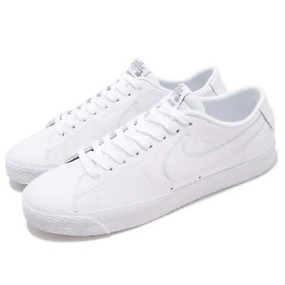 low priced 4cace 486fc NIKE SB ZOOM Blazer Low NBA White Men Skate Boarding Shoes Sneakers  AR1576-114