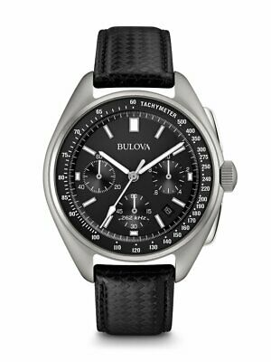 Bulova Special Edition Moon Apollo Lunar Pilot Black Dial Men's Watch 96B251