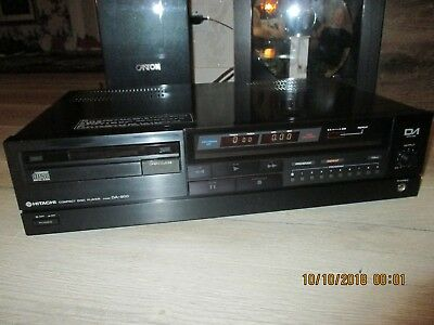 High-End Hitachi DA-800 Compact Disc Player