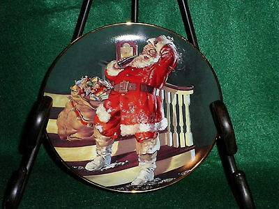 The Coca-Cola Hour 1995 Franklin Mint Collector Plate                     (AS-8)