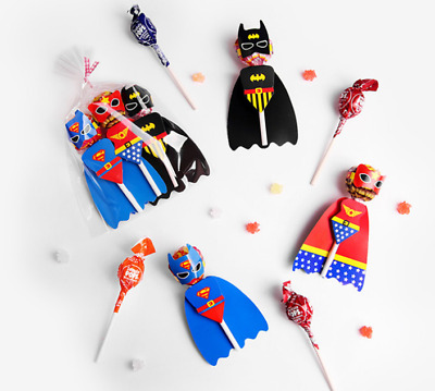 Kids Birthday Party Bag Fillers Loot Gift Decoration Superhero Batman Superman