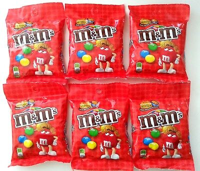 12 x M&M's Peanut Butter Candy Chocolate Peg Bag 144.6g