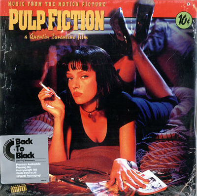 Quentin Tarantino vinyl LP album record Pulp Fiction - Sealed USA